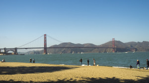 Golden Gate Bridge from Crissy Park